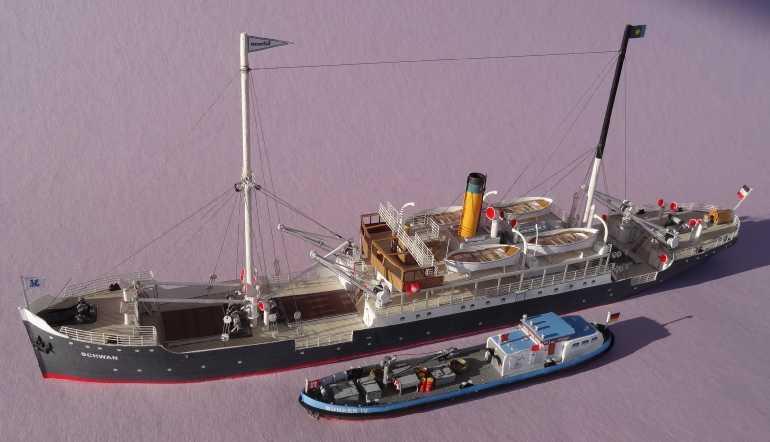 """Bunkerboot """"Bunker IV"""" - Passat-Verlag-1:250 Dsc01229"""