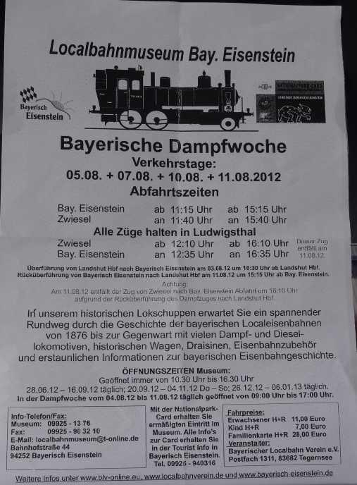 Zwiesel - Bay.-Eisenstein mit BR70 Dsc01314