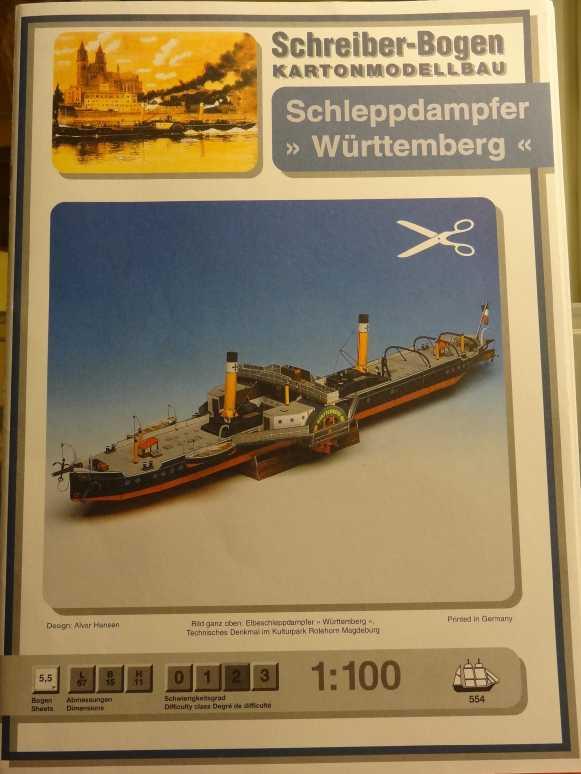 "Seitenradschlepper ""Württemberg"", 1:250, Aue Verlag Dsc01556"