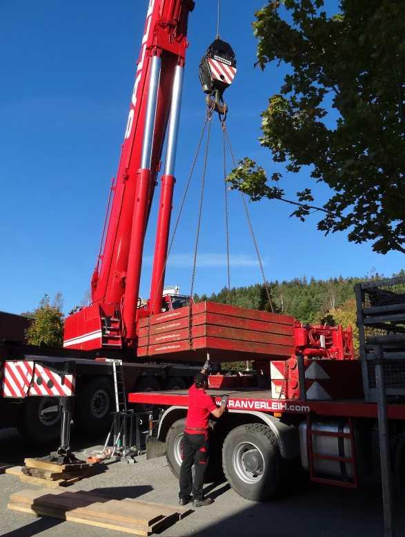 Liebherr 450t Kran im Aufbau Dsc01819