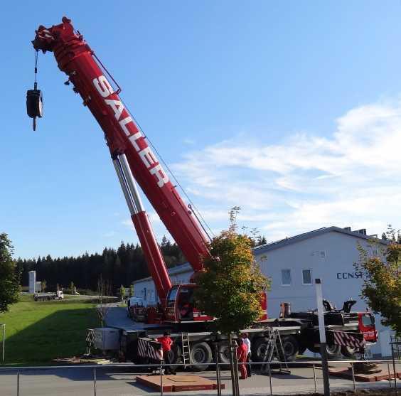 Liebherr 450t Kran im Aufbau Dsc01823