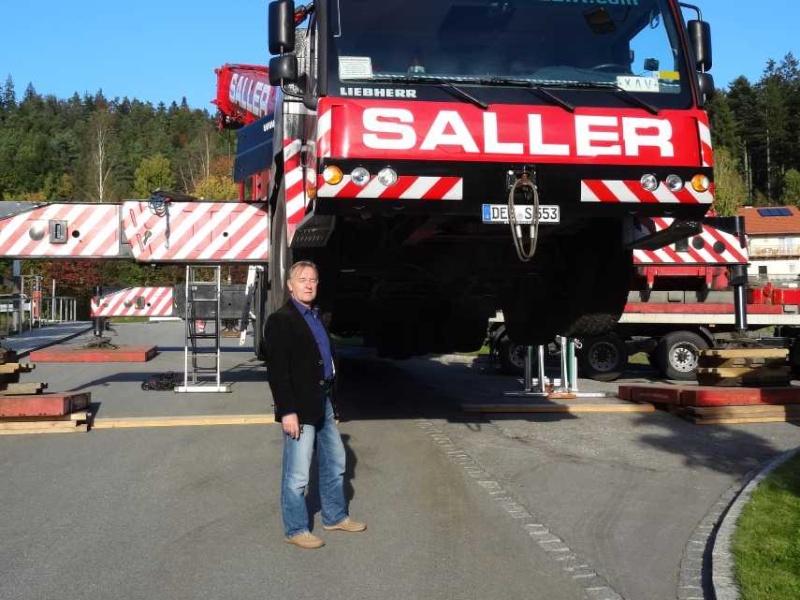 Liebherr 450t Kran im Aufbau Dsc01826