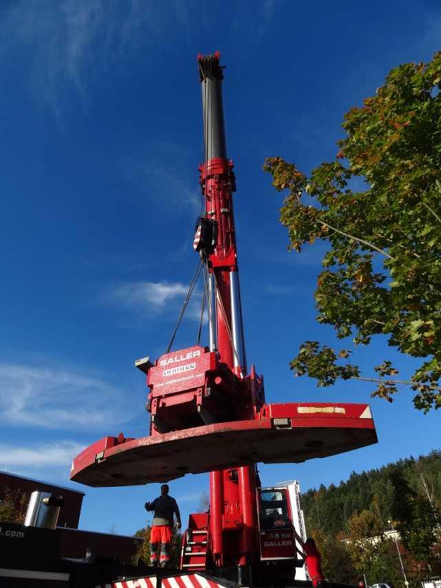 Liebherr 450t Kran im Aufbau Dsc01840