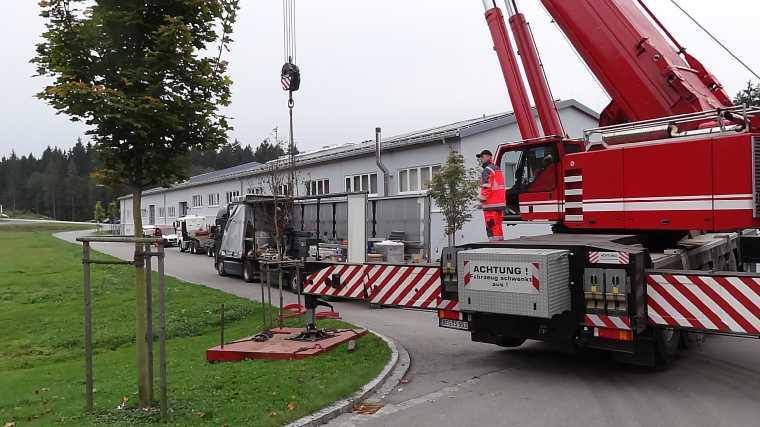 Liebherr 450t Kran im Aufbau Dsc01853