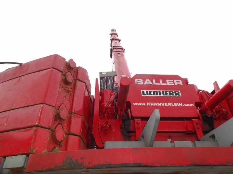 Liebherr 450t Kran im Aufbau Dsc01910