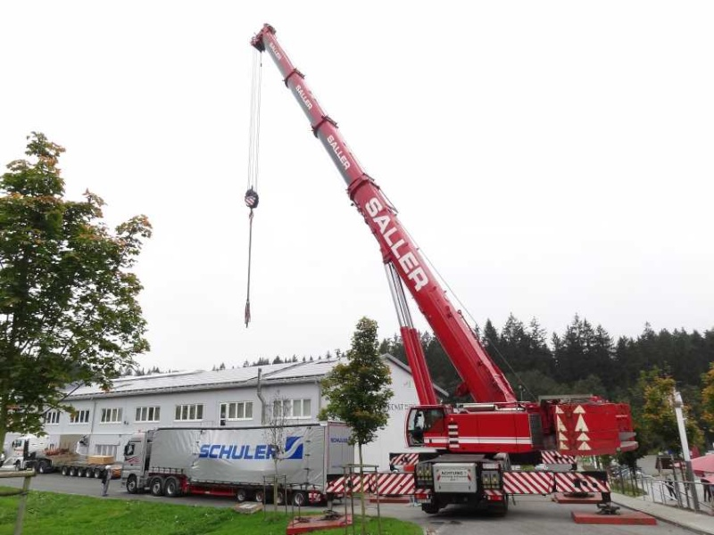 Liebherr 450t Kran im Aufbau Dsc01915