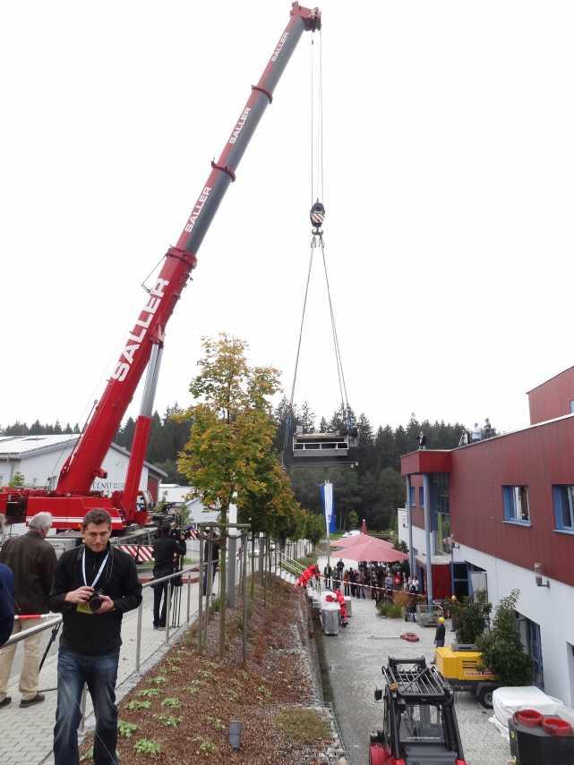 Liebherr 450t Kran im Aufbau Dsc01923