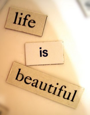 Life is beautiful ;-)  34345_10