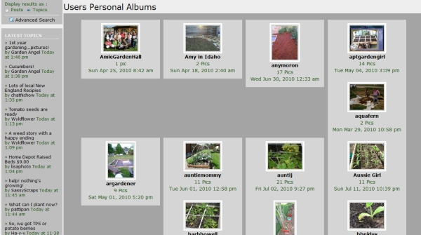 Gallery: Personal Album suggestions/questions Galler11