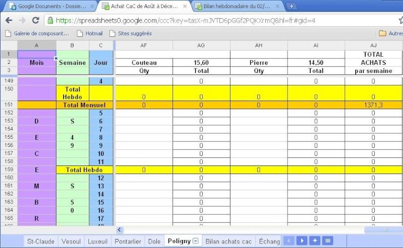 1.2 Registres des ventes et achats aux mairies non tenus du 1er au 16 décembre Polign13