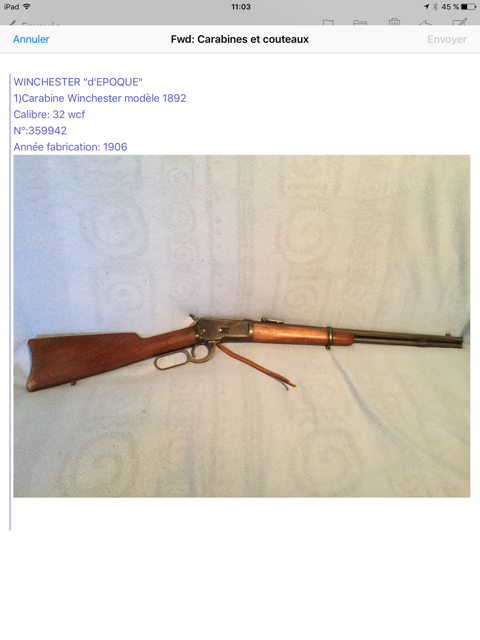 Collection lever actions Image113