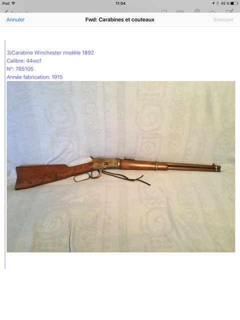 Collection lever actions Image210