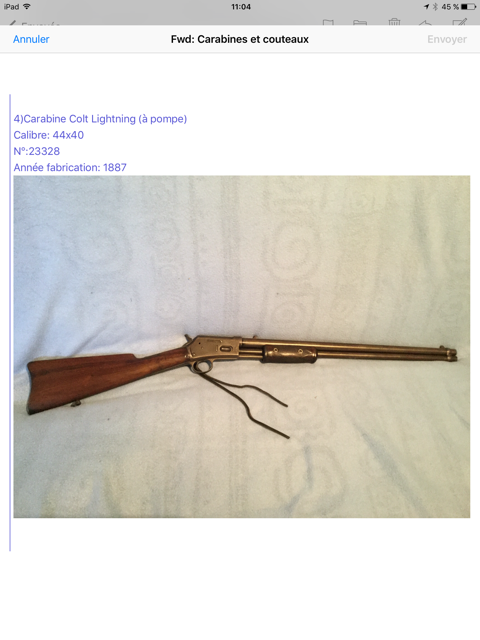 Collection lever actions Image310