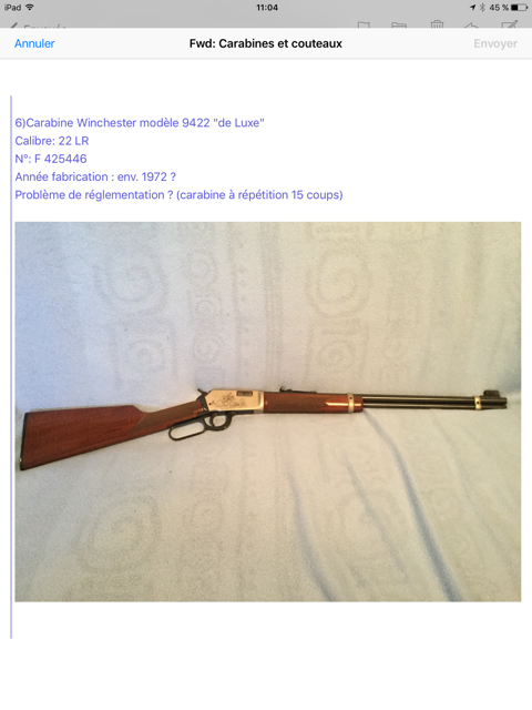 Collection lever actions Image410