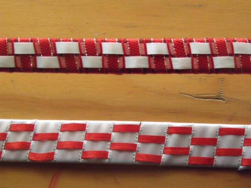 Full size ribbon browbands Dscf4810