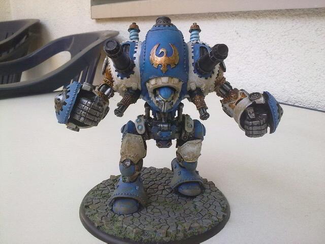 Stormwall Cygnar Colossal Warjack Stormw10