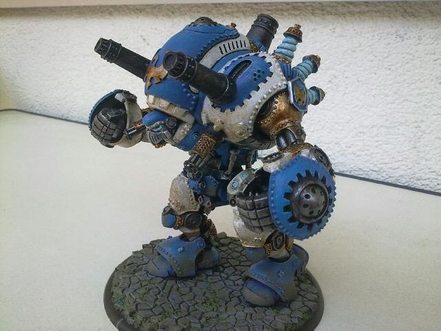 Stormwall Cygnar Colossal Warjack Stormw11