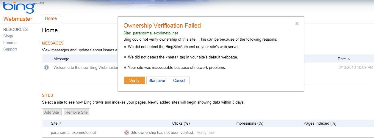 Optimiser le référencement de votre forum via Bing Webmaster Bing10