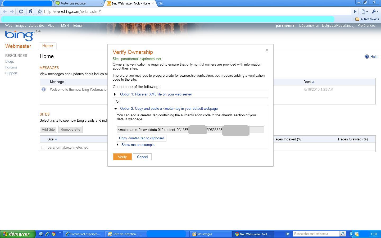 Optimiser le référencement de votre forum via Bing Webmaster Bing_210