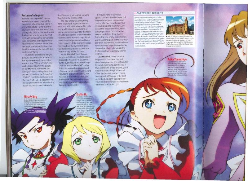 Mai-HIME and Mai-Otome Magazine Scans La110