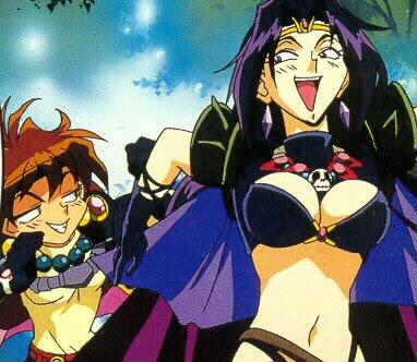 Lina Inverse x Naga The Serpent from the Slayers OVAs/Movies Slayer15