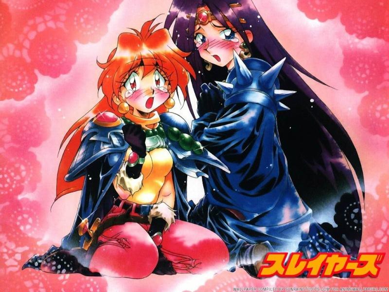 Lina Inverse x Naga The Serpent from the Slayers OVAs/Movies Slayer16