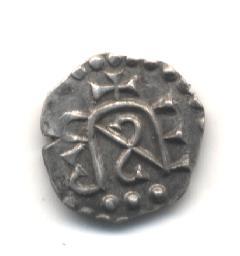 Denier mérovingien attribué à tours - Belfort 5680. Nana_219