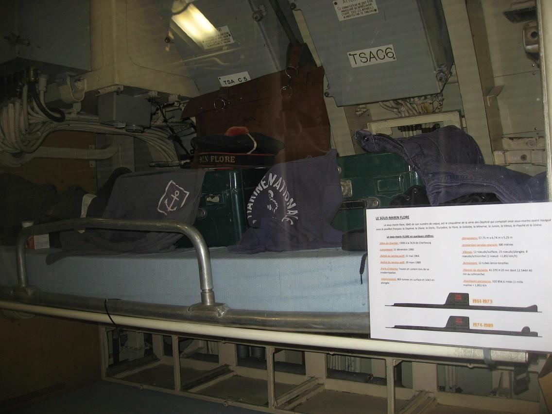 [Les Musées en rapport avec la Marine] Sous-Marin  Flore - Page 10 030b10