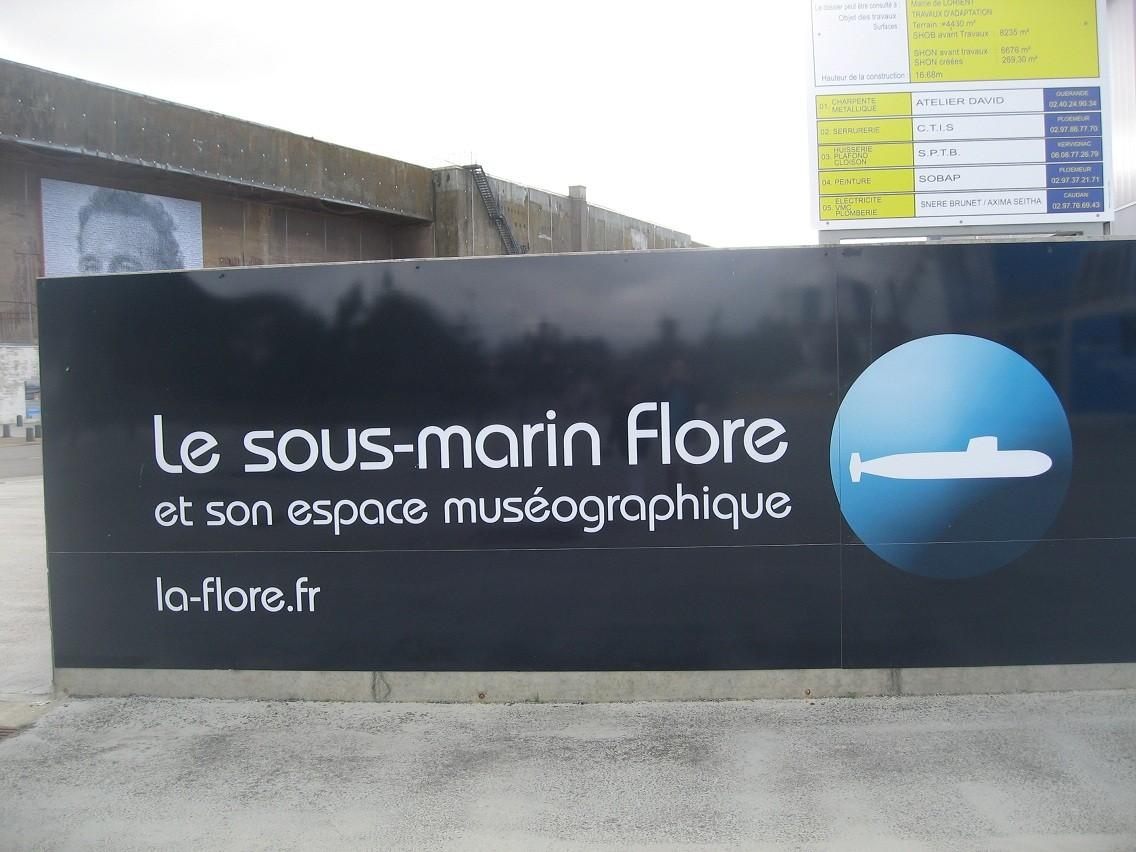 [Les Musées en rapport avec la Marine] Sous-Marin  Flore - Page 10 074b10