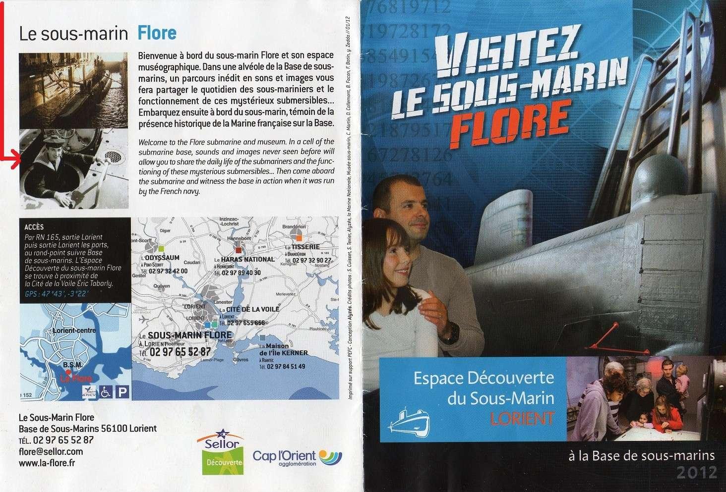 [Les Musées en rapport avec la Marine] Sous-Marin  Flore - Page 11 Img01110