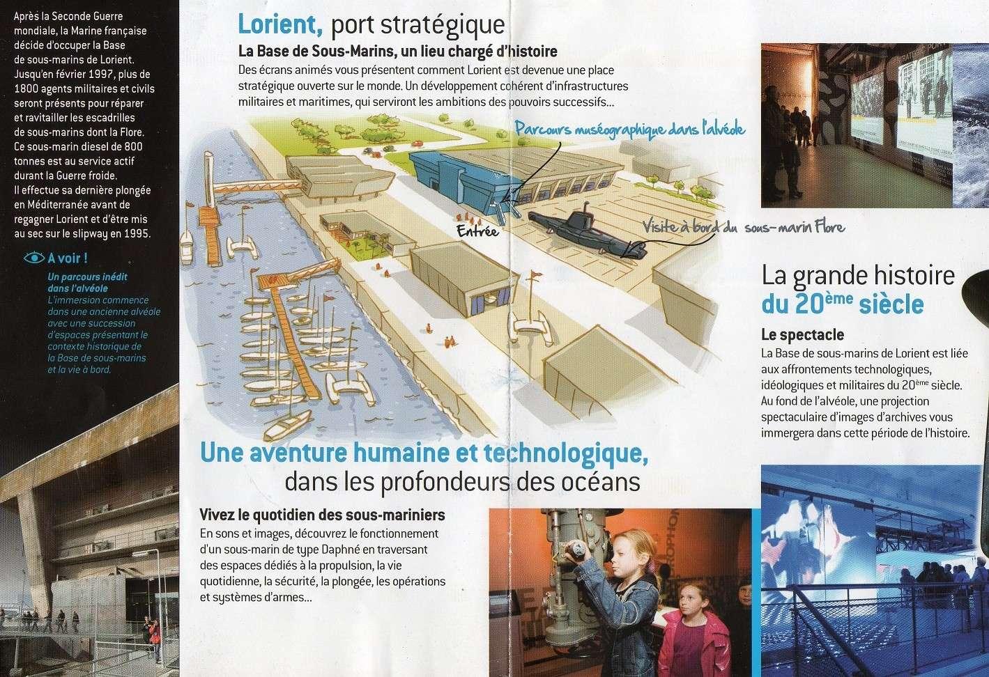 [Les Musées en rapport avec la Marine] Sous-Marin  Flore - Page 11 Img01210