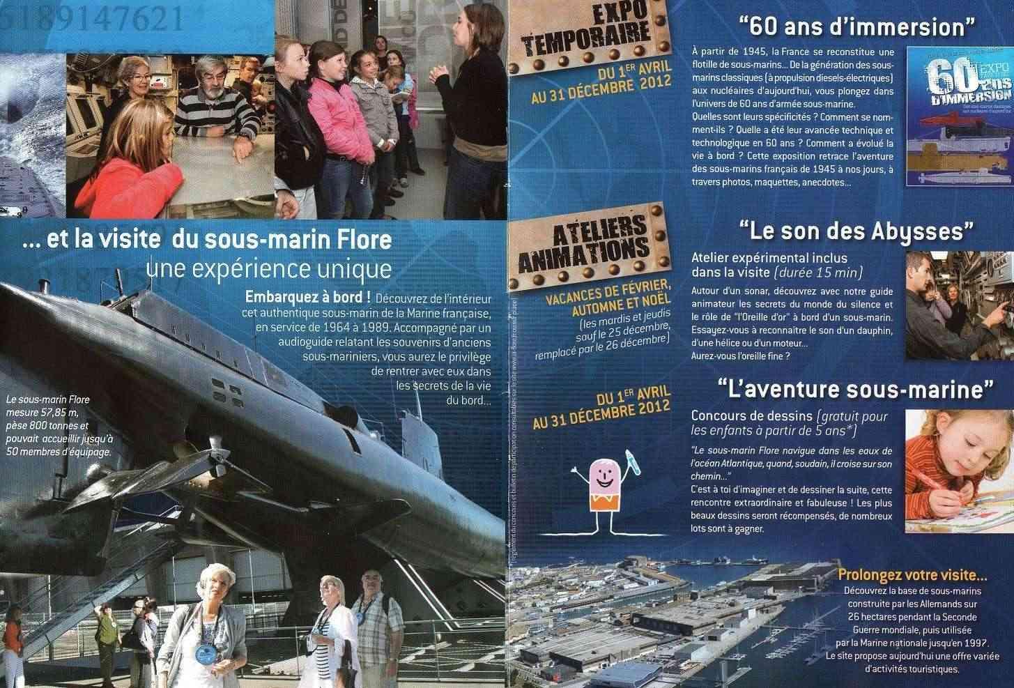 [Les Musées en rapport avec la Marine] Sous-Marin  Flore - Page 11 Img01310