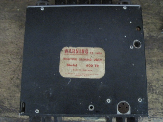 Branchement autoradio RADIOMOBILE 600 TR Img_5729