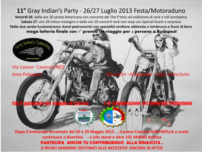 GRAY INDIAN 26-27/7 CAVEZZO(MO) Modena11