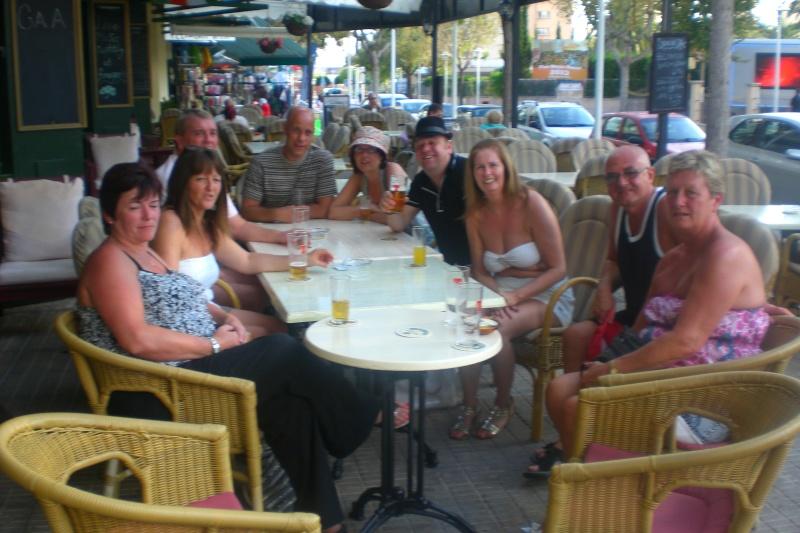 After Golf Tournament drinks in Finnegans. Cimg1730