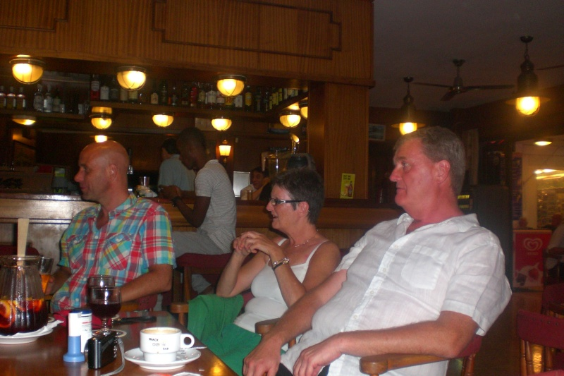 Watching the Arsenal game at the Orion Bar. Cimg1732