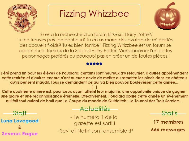 Fizzing Whizzbee, le monde d'Harry Potter Sans_t14