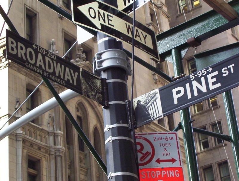 Photographie : Panneau indicateur à NYC New_yo10