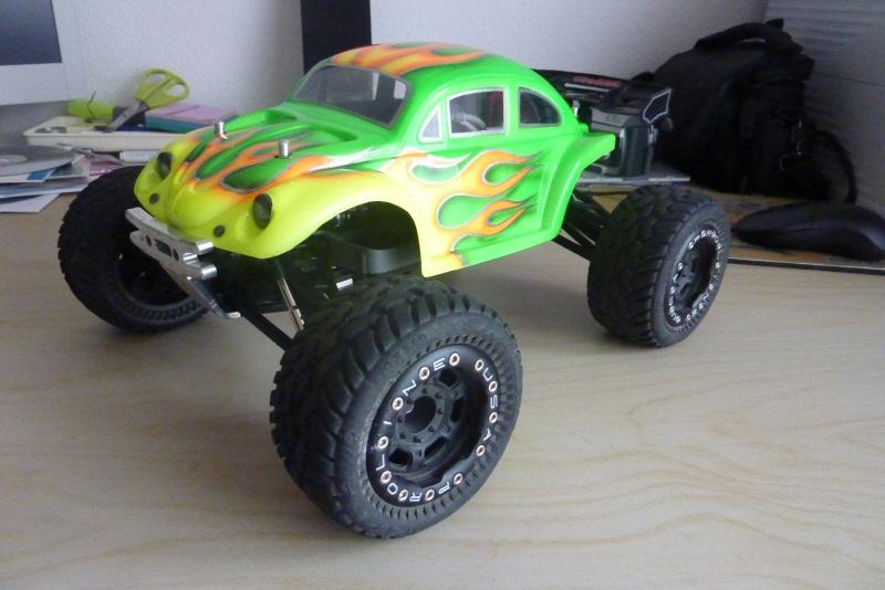 Chauffe avec carrosserie baja WV proline P1010710
