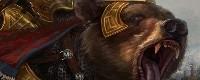 (Bolgrong, Ours de Moradund [Emblème Kazharien]  +150, v+150, Régénère si -25% de la vie)