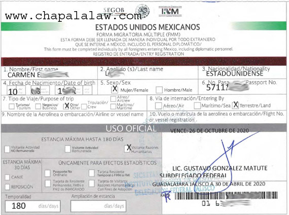 Beware of fake tourist visa renewals Fmmhum10
