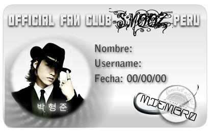 Fan Club Oficial Smooz Peru Prueba10