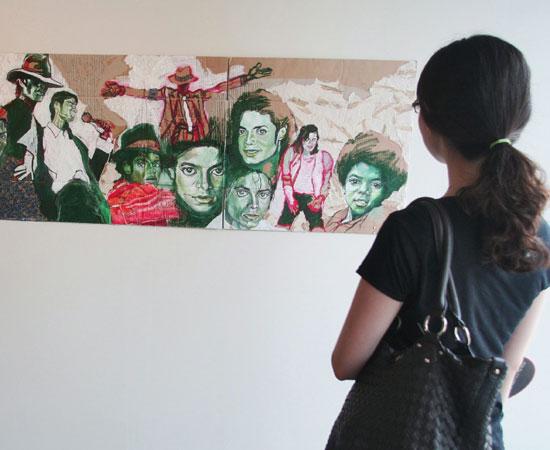 Il mondo dell'arte ricorda Michael Jackson 610