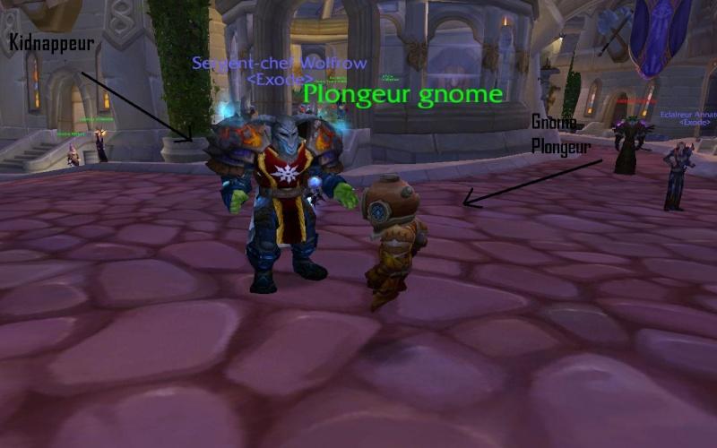 Gnome Plongeur. Wowscr22
