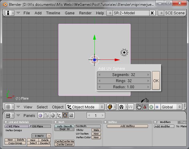 Blender Game Engine Parte 2 (Mi primer juego 3D) Blende10