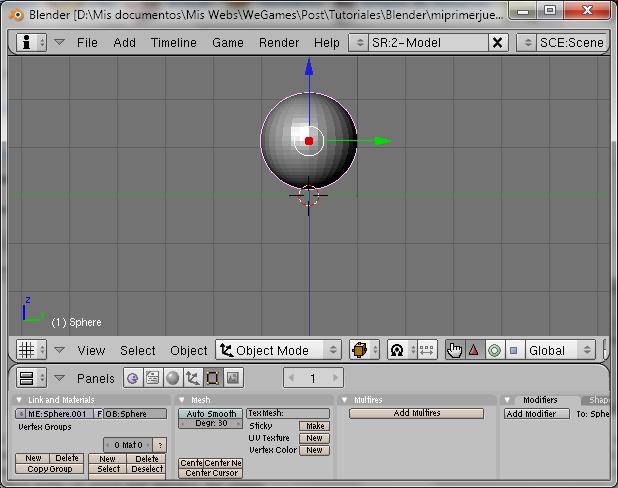 Blender Game Engine Parte 2 (Mi primer juego 3D) Blende11