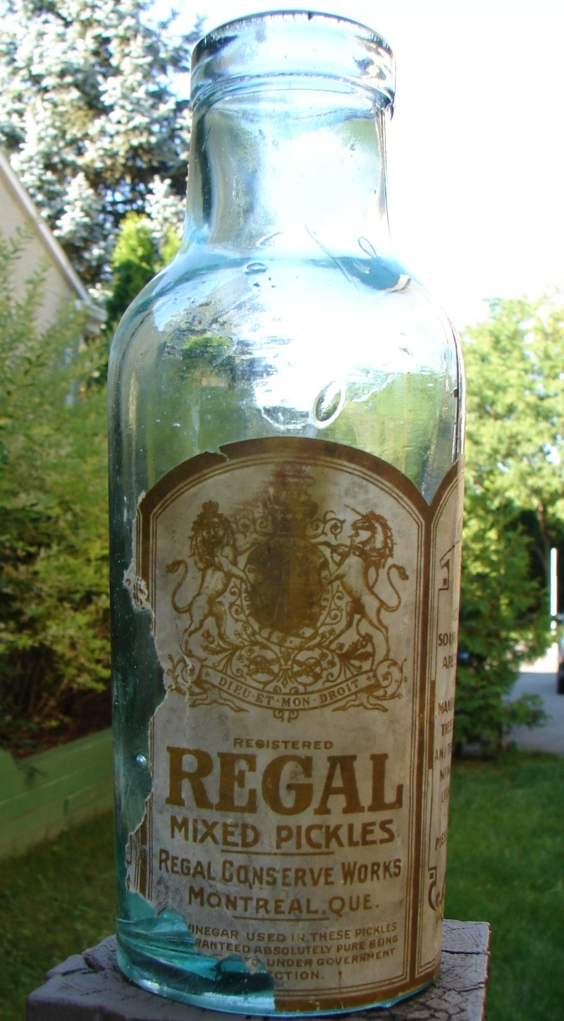 Henri Jonas, Lymans & Regal Conserve Works Regal110