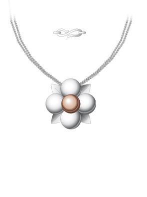 Bague fleur Penden10