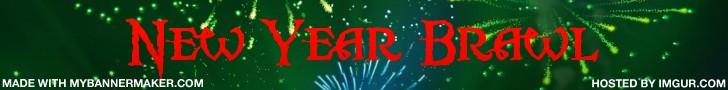 New Year Brawl! Logo Mybann25
