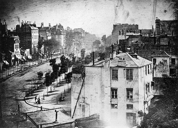 La plus ancienne photo de Paris Boulev10